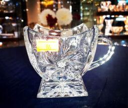 فنجان چای خوری کریستال طرح خورشیدی