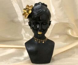 خرید عمده مجسمه نیم تنه دختر سیاه پوست