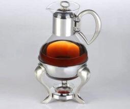 قوری قهوه جوش استیل پیرکس