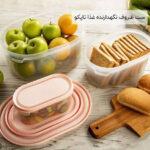 ست ظروف نگهدارنده غذا تاپکو