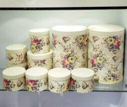 سرویس آشپزخانه ده پارچه گلدار