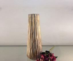 گلدان دکوری رومیزی طرح تنه درخت
