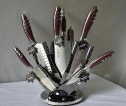 سرویس چاقو آشپزخانه ۸ پارچه ROCKLAND