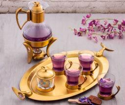 سرویس چای خوری تک استیل مدل لوپ
