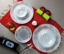 سرویس غذاخوری ۲۵ پارچه طرح مراکشی