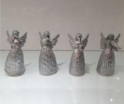 ست مجسمه فرشته بالدار نوازنده پلی استر