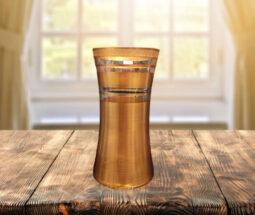 گلدان شیشه ای دکوری مدل رومیزی