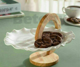 شیرینی خوری یک طبقه پایه چوبی BETONY