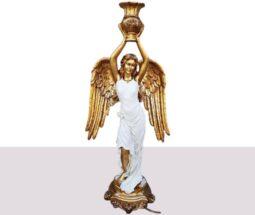 مجسمه کنار سالنی فرشته پلی استری
