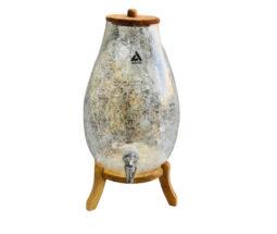 کلمن شیشهای پایه چوبی ARCO