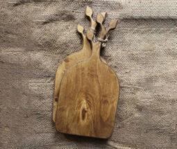 تخته سرو چوبی طرح شاخه