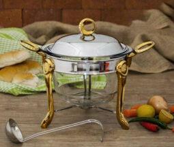 سوفله سوپ خوری استیل گرد رزلند