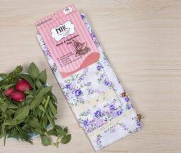 کیسه سبزی پارچه ای گلدار نیک