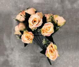 بوته گل رز مصنوعی ۱۰ شاخه
