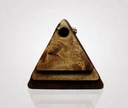 تخته سرو چوبی طرح مثلث سه سایز