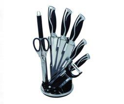 سرویس چاقو آشپزخانه ۹ پارچه هوم لوکس